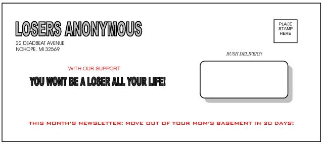 The Pay Back com - Prank Envelopes